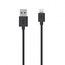 Дата-кабель HOCO UPL11 L SHAPE LIGHTNING CHARGING CABLE black