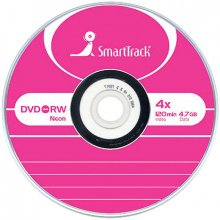 Диск Smart Track DVD+RW 4.7 Gb 4x в конверте