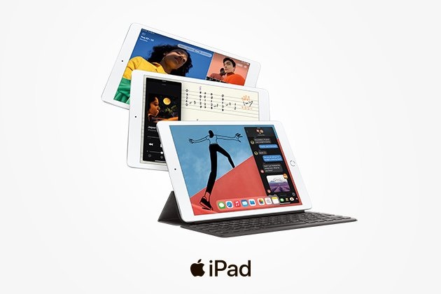 Старт продаж Apple iPad 8 поколения!
