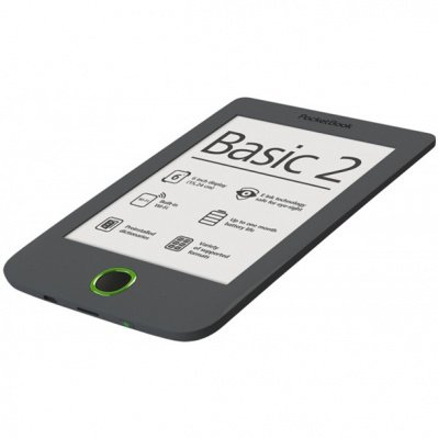 Электронная книга Pocketbook 614 Basic 2 (PB614-Y-CIS), серый